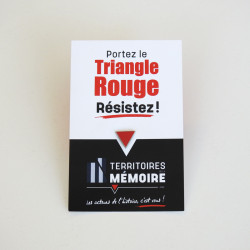 1 pin's Triangle Rouge