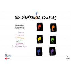 Les différentes couleurs